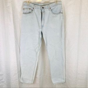 🔥🔥VINTAGE MADE IN USA LEVI 550 38x30 JEANS